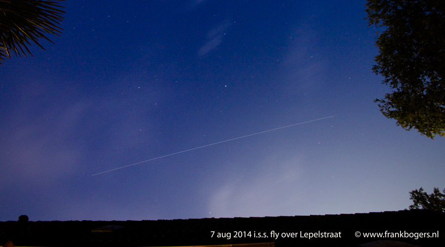 int space station fly over - photo #3